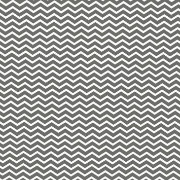 Coton chevron anthracite