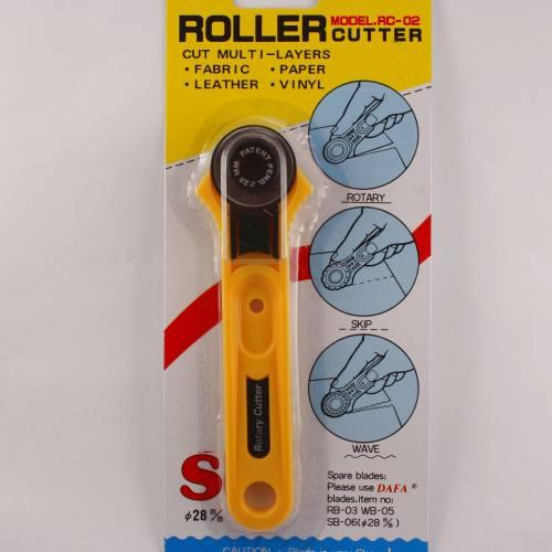 Cutter rotatif diam.28mm lame droite