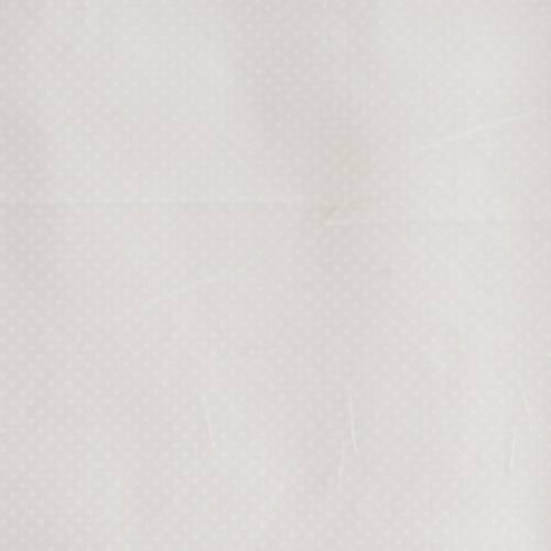 Coton gris clair imprimé petits pois 2 mm