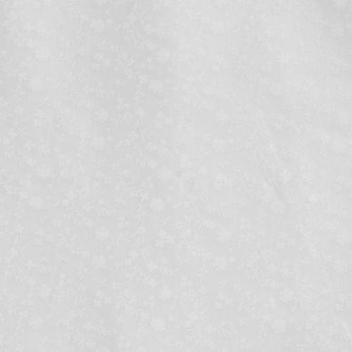 Coton blanc imprimé fleurs marguerites