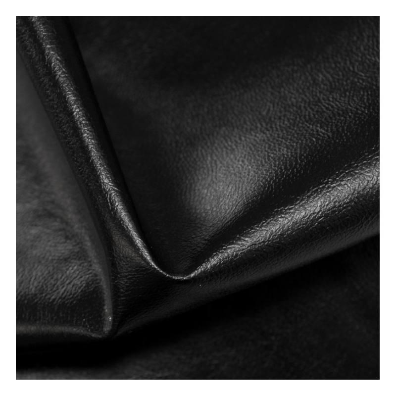 Rouleau 20m Simili cuir uni noir