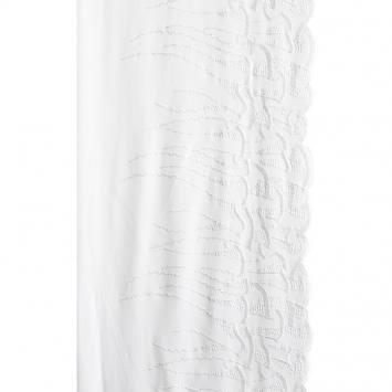 Ruban broderie blanche 19 cm