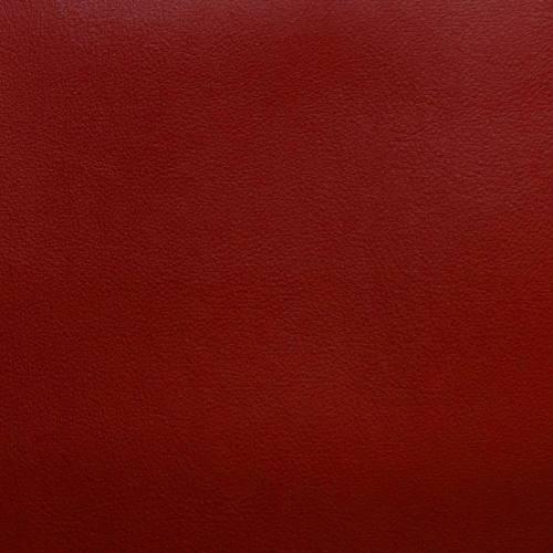 Simili cuir rouge envers suédine