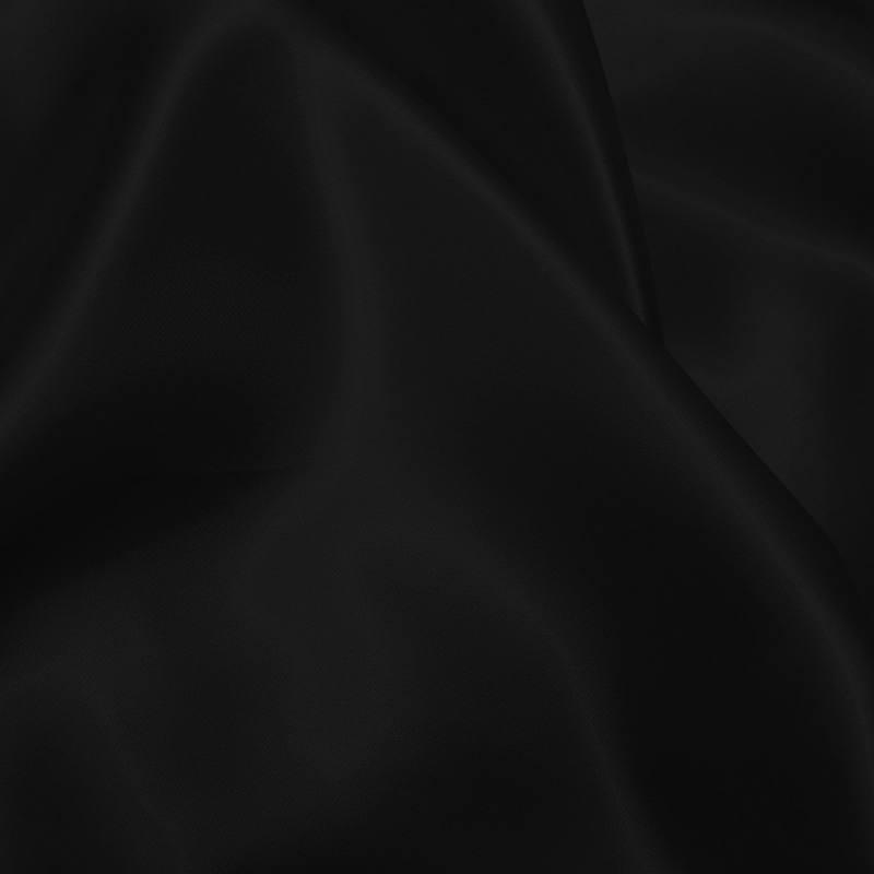satin uni noir 150 cm pas cher tissus price. Black Bedroom Furniture Sets. Home Design Ideas