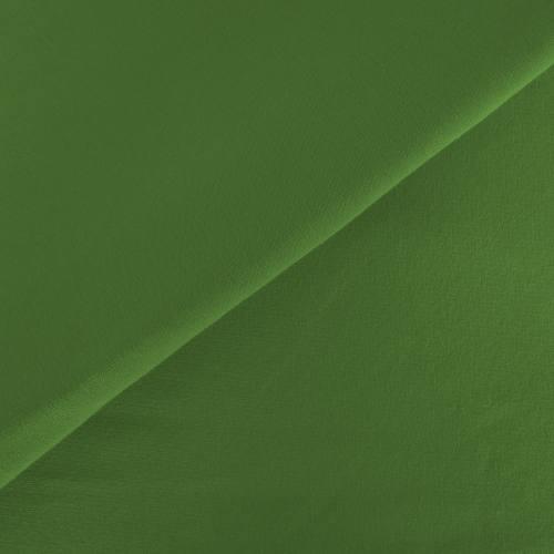 Tissu molleton uni vert tilleul
