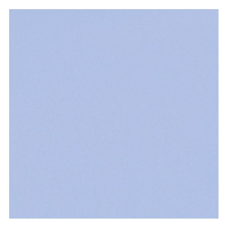 Toile coton demi-natté bleue pastel