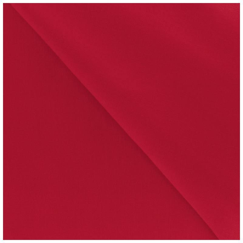 Polycoton uni rouge