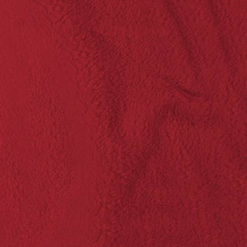 Tissu polaire microfibre rouge 140 cm