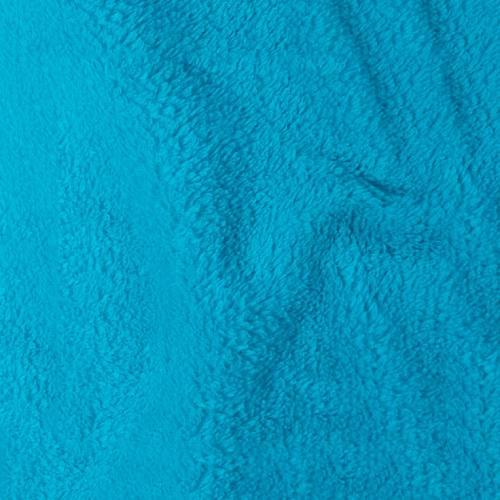 Tissu polaire microfibre turquoise 140 cm