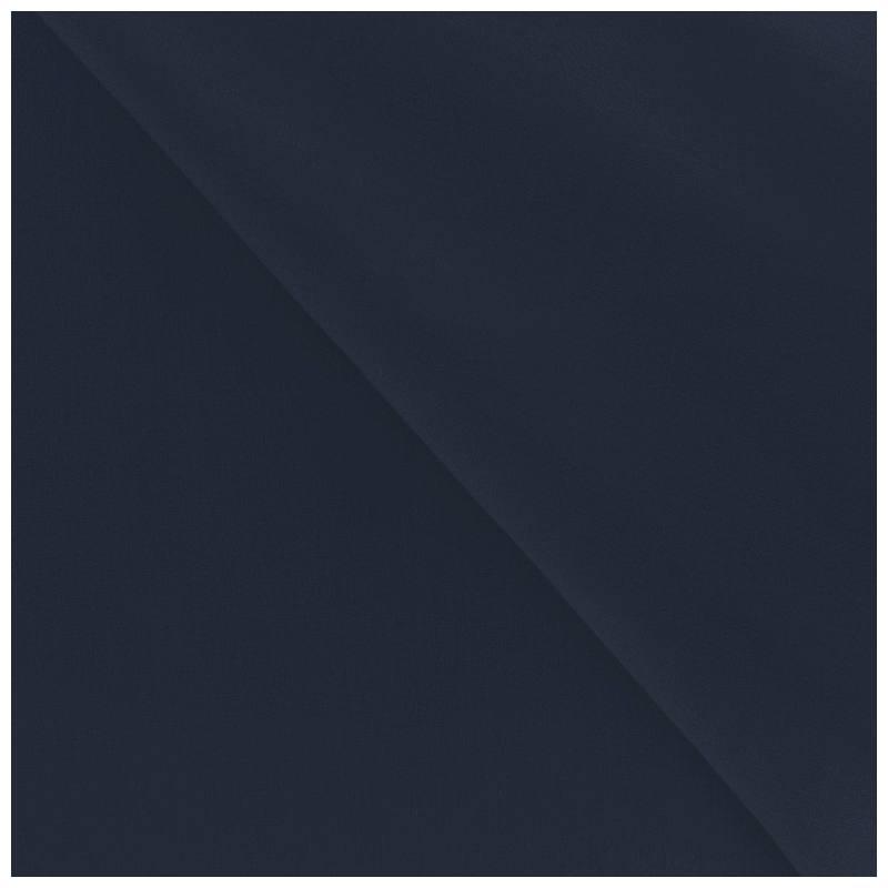 Polycoton uni bleu marine