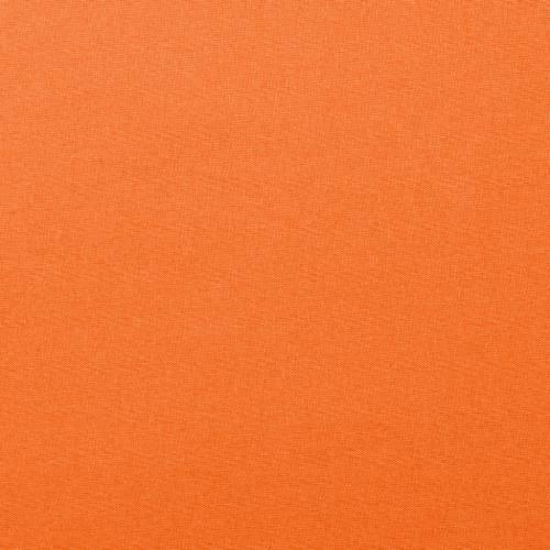 Coton uni mandarine