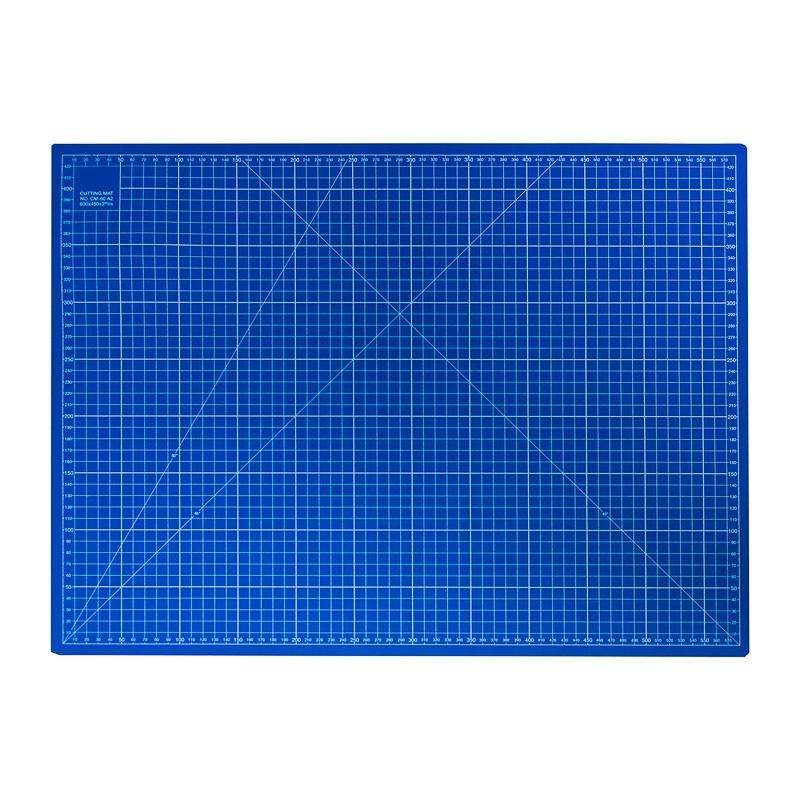 tapis de d coupe bleu 60x45 cm pas cher tissus price