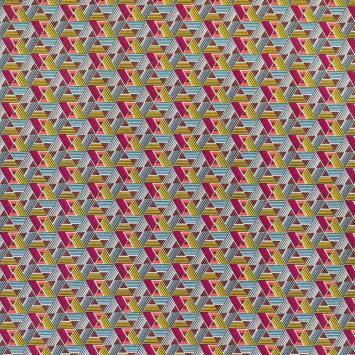 Coton rose motif wax papyrus
