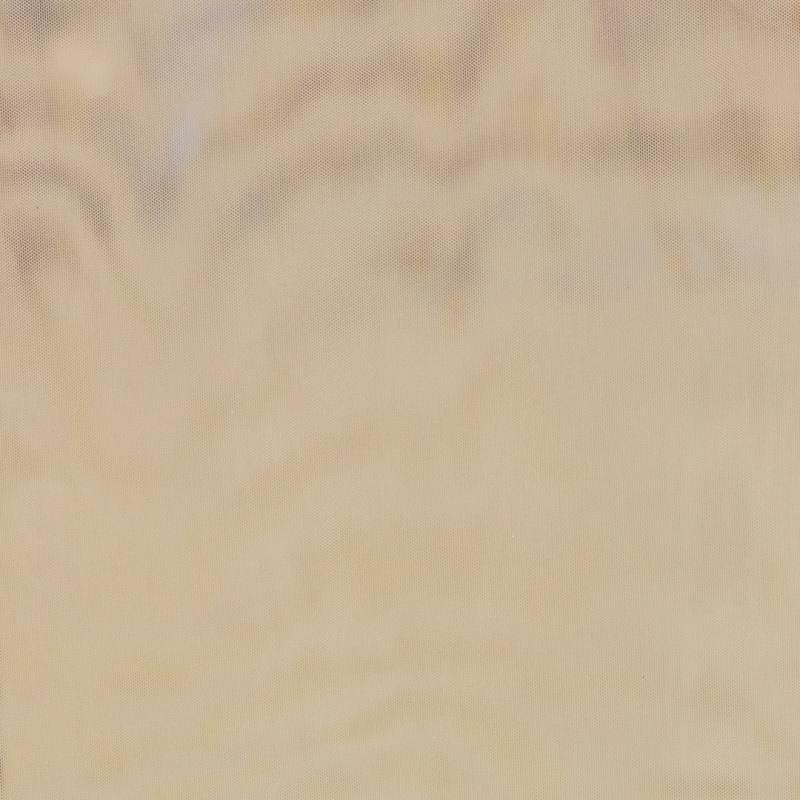 Résille extensible beige lurex