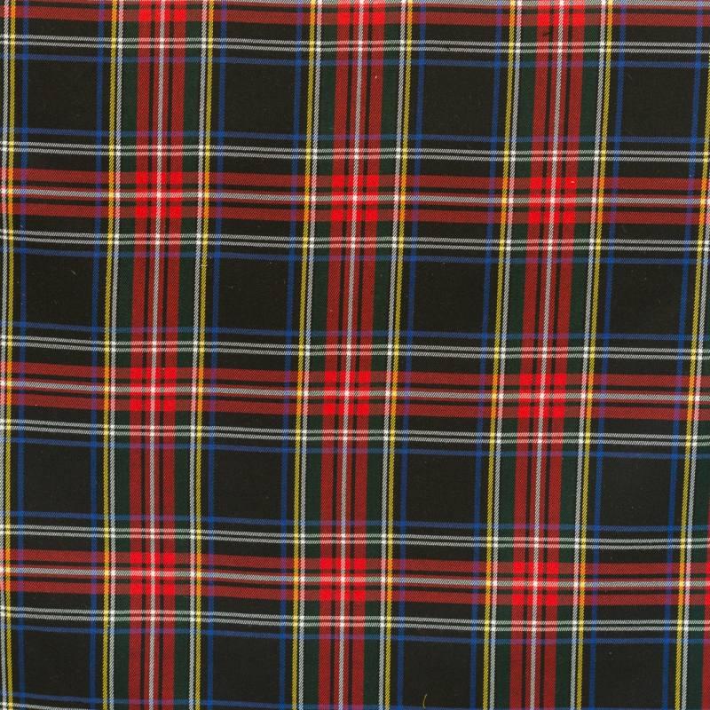 tissu tartan rouge jaune et noir pas cher tissus price. Black Bedroom Furniture Sets. Home Design Ideas
