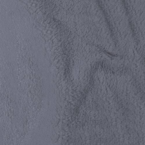 Tissu polaire microfibre gris clair 140 cm