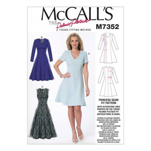 Patron Mc Call's M7352 : Robes 34-50