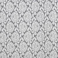 Dentelle extensible blanche motif fleur