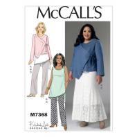 Patron Mc Call's M7368 : Veste, tunique, jupe et pantalon 36-44
