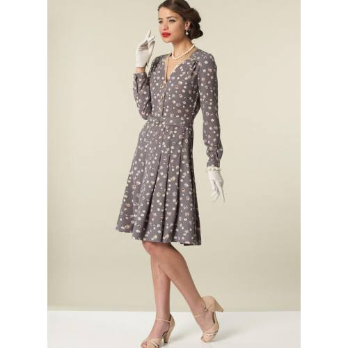 Patron Mc Call's M7433 : robe pour jeune femme 34-42