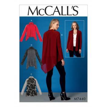 Patron Mc Call's M7440 : jupes et ceinture pour jeune femme 34-42
