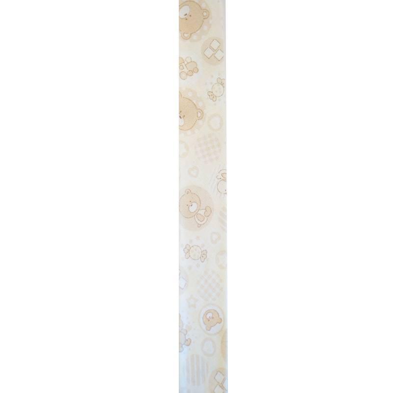 Biais ourson beige 25mm