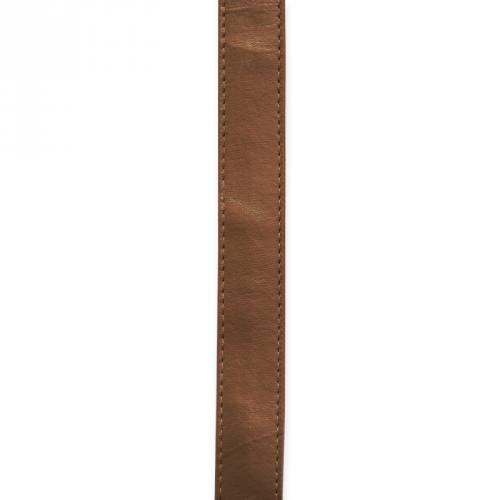 Sangle simili cuir bronze 25 mm