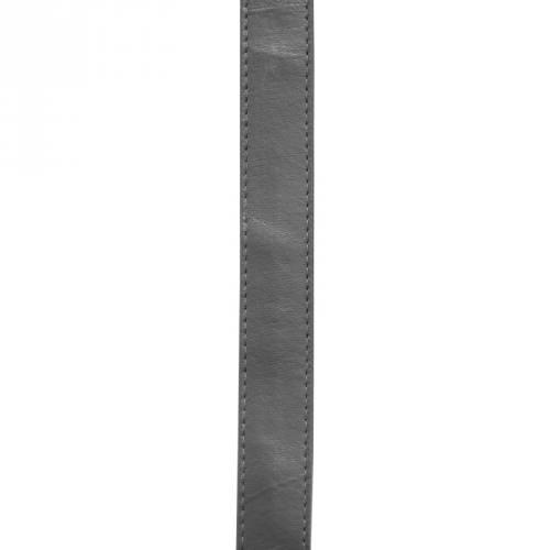 Sangle simili cuir gris foncé 25 mm