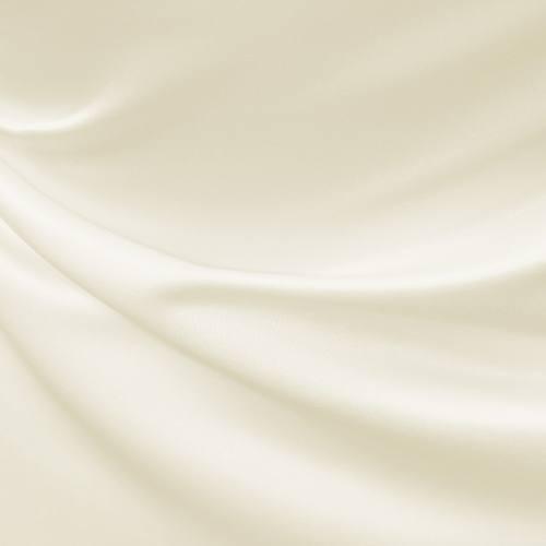 Satin duchesse ivoire