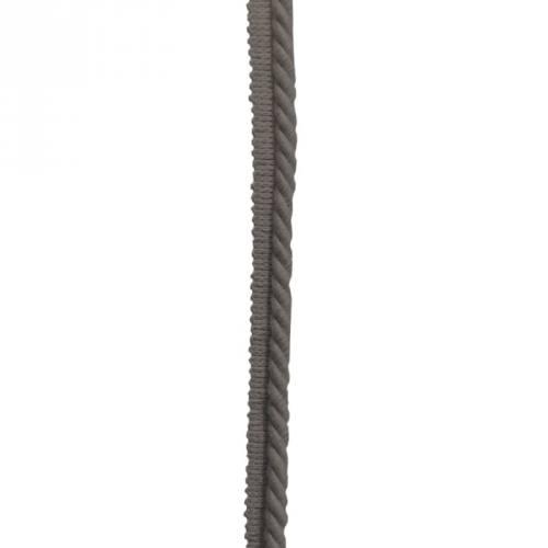Passepoil cousu gris foncé 5mm