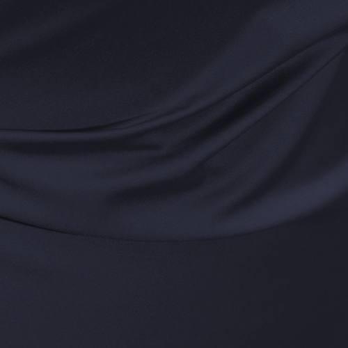 Satin microfibres royal bleu marine