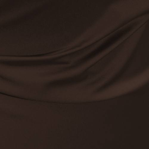 Satin microfibres royal marron