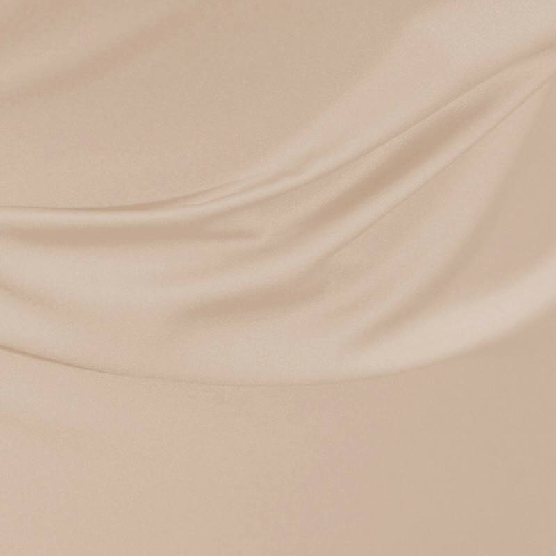 Satin microfibres royal beige