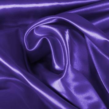 Satin extensible violet