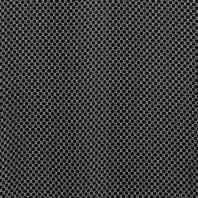 Tissu mousseline noir imprimé gros pois