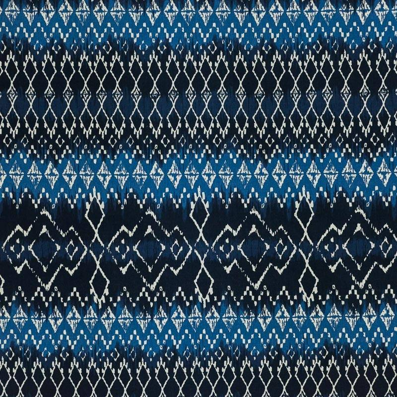 coton tie and dye bleu imprim ethnique pas cher tissus price. Black Bedroom Furniture Sets. Home Design Ideas