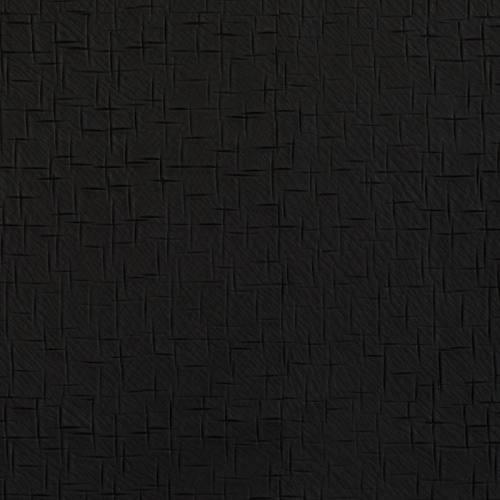 Simili cuir noir à trait