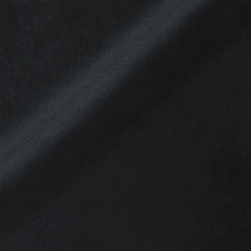 Velours uni noir 450 gr