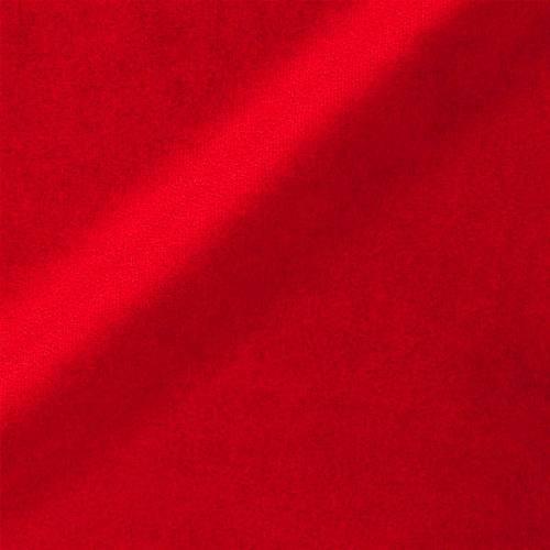 Velours uni rouge 450 gr