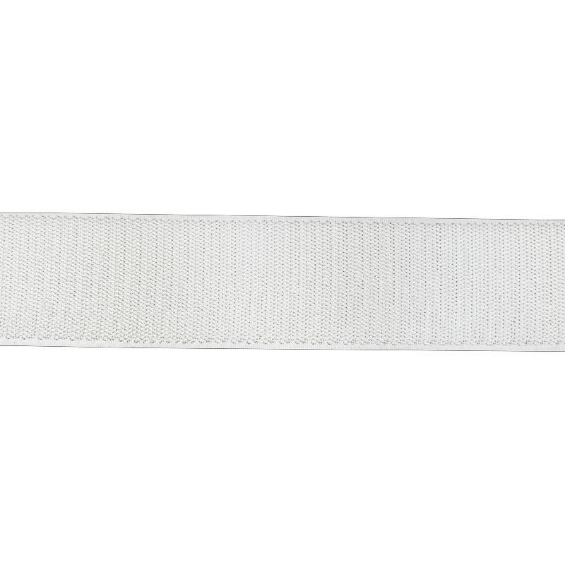Auto agrippant à coudre crochet 50 mm blanc