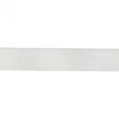 Auto agrippant à coudre crochet 20 mm blanc