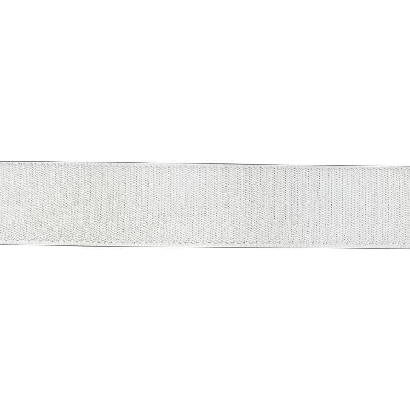 Auto agrippant à coudre crochet 38 mm blanc