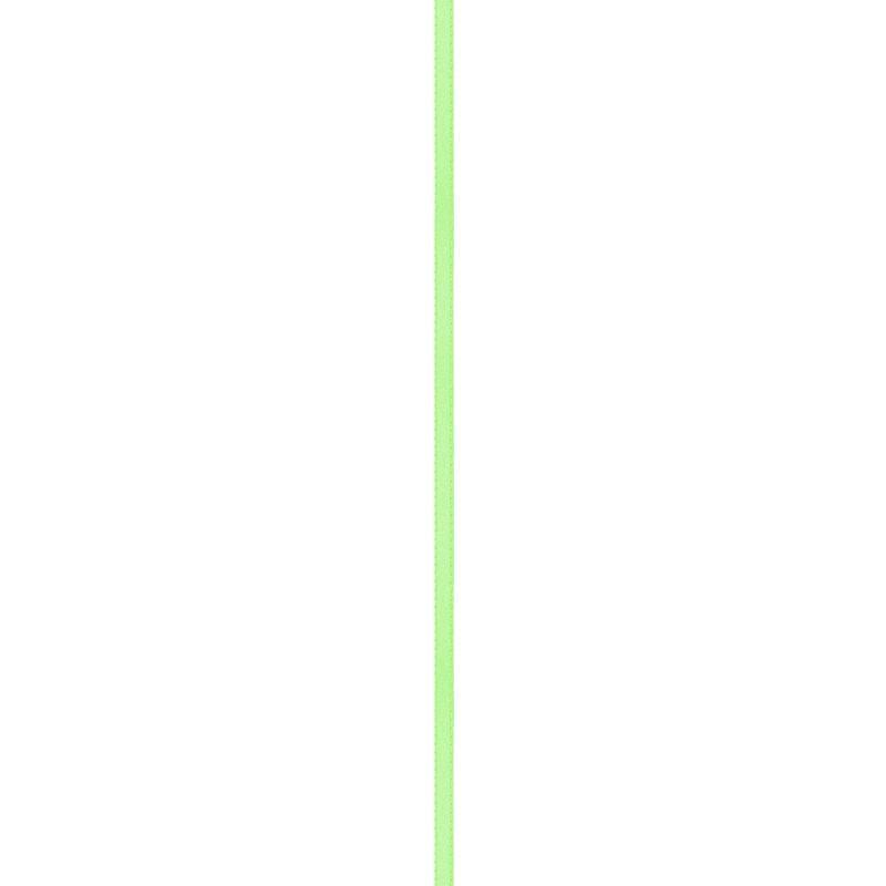 Ruban satin double face vert pomme 3mm