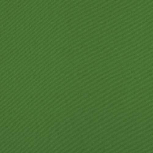 Toile polycoton verte grande largeur