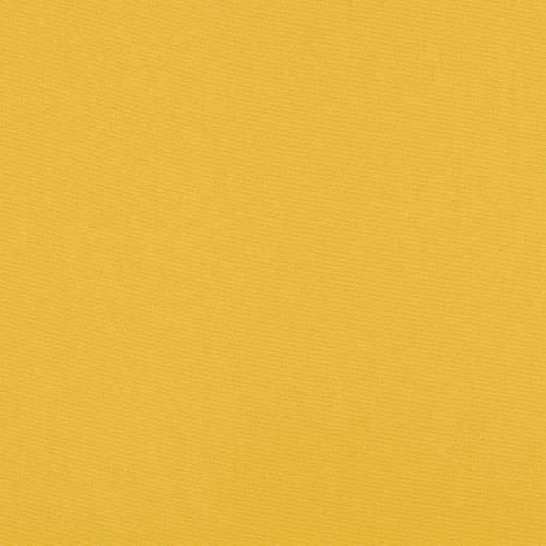 Toile polycoton jaune grande largeur