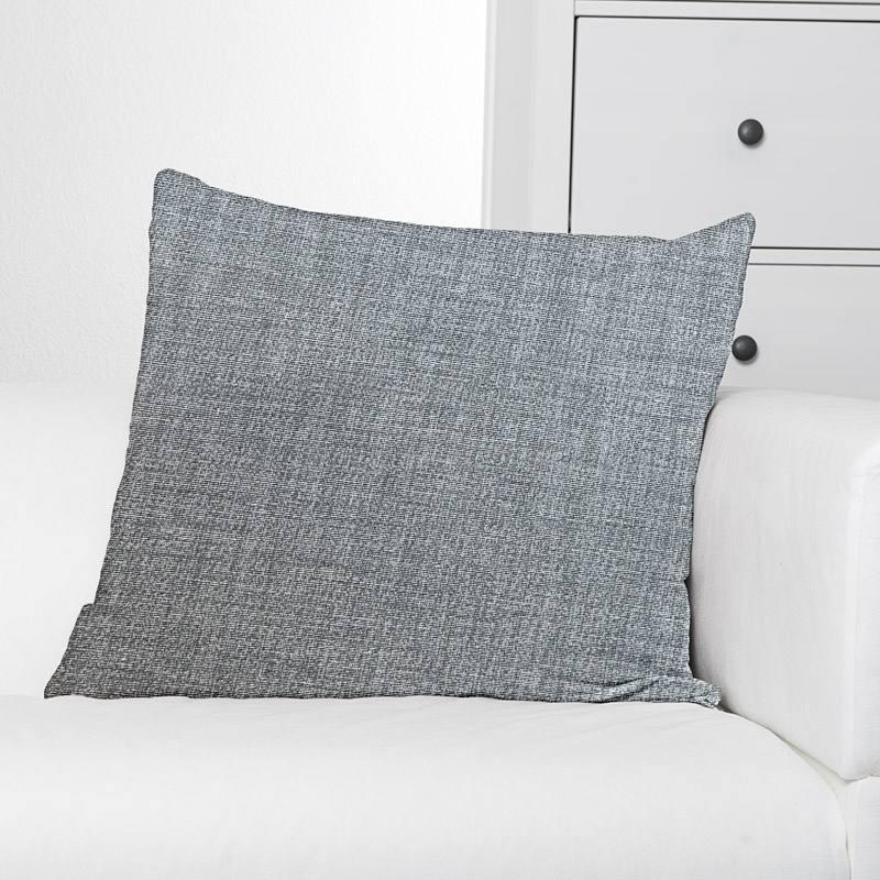 Toile polycoton grise chinée grande largeur
