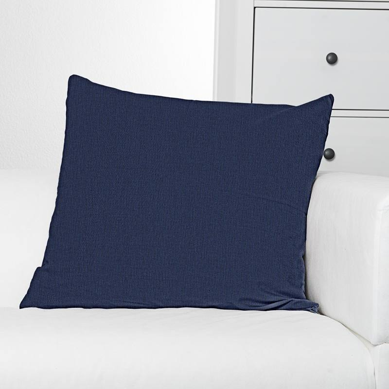 tissu ext rieur t flon bleu marine pas cher tissus price. Black Bedroom Furniture Sets. Home Design Ideas