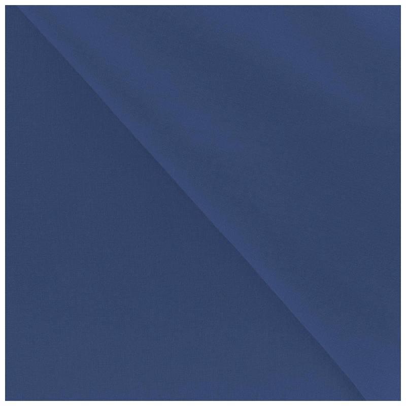 Polycoton uni bleu roi