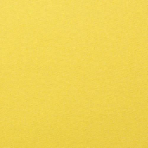 Coton uni jaune