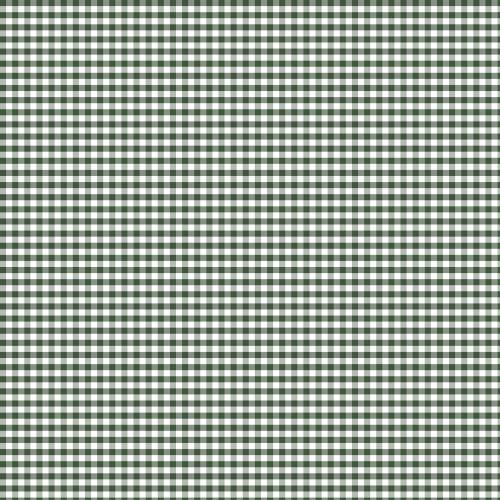 Coton vichy vert foncé 5 mm